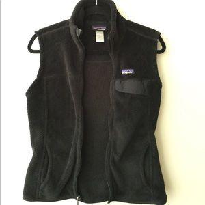 Black Patagonia vest